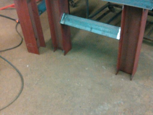 Heavy Beam Style Board Room Table